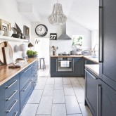 Navy kitchen ideas
