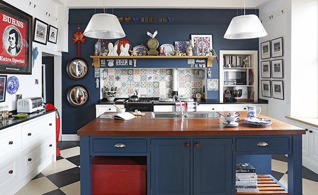10 picture-perfect navy kitchens