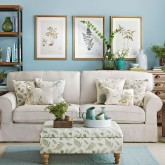 Duck egg living room ideas
