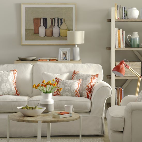 Calming Neutral Living Room Calming Colours How To Decorate For Easy Living
