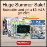 Subscribe to one of our homes magazines today from just £16.49