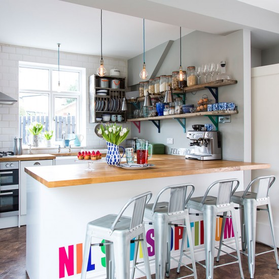 Kitchen Furniture Leeds: Take A Peek Inside This Colourful Family Home In