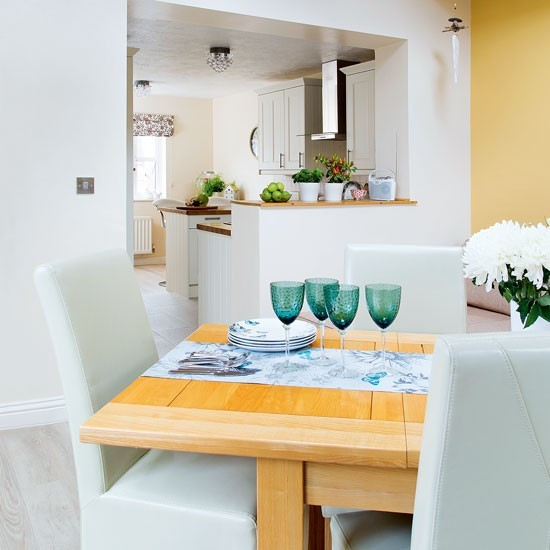 Dining space within in open plan kitchen area Studio  : rt DGSHEBE121 from www.housetohome.co.uk size 550 x 550 jpeg 53kB
