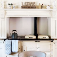 Rustic kitchen with cream range cooker as its centrepiece