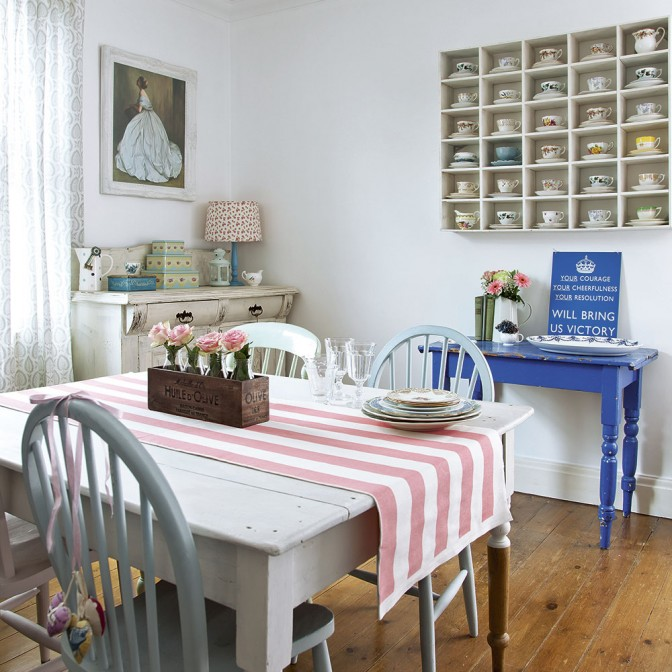 Cheer up your kitchen with pretty pastels