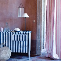 Statement stripes in farmhouse country style