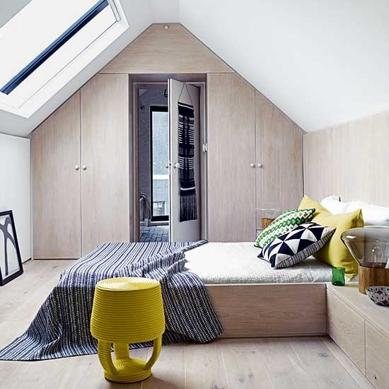 Beautiful storage ideas for attic bedroom images dream home for Attic bedroom storage