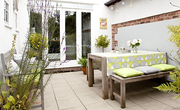 Don't miss this sunny garden space