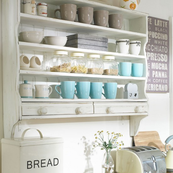 Open kitchen storage