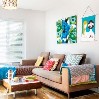 Be inspired by this vibrant, colourful family home in Cardiff