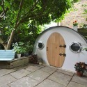 The best garden shed in the world? Step inside this Hobbit-inspired build