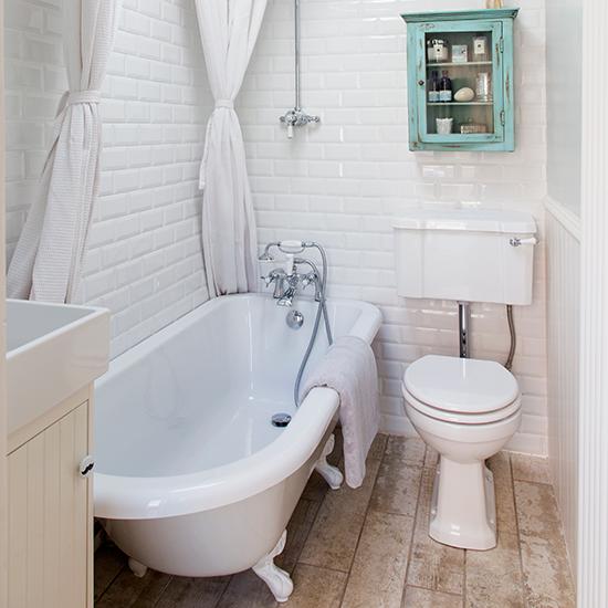 Bathroom step inside this restored victorian terrace in for Victorian terrace bathroom ideas
