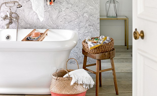 Clever designs for small bathrooms