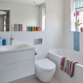 Be inspired by this spacious modern bathroom