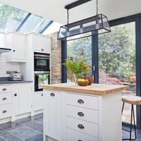 Neutral kitchen with urban industrial touches