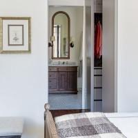 Traditional bedroom with en suite bathroom
