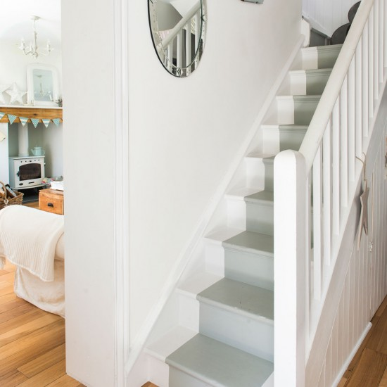 Hallway check out this welcoming country cottage in cornwall - Country cottage hallways ...