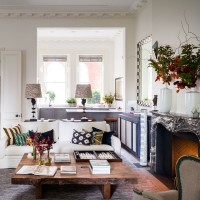 Check out this chic and artistic apartment in London