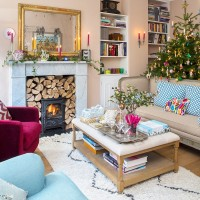 Be inspired by this compact family home at Christmas