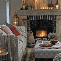 Christmas mantelpiece and fireplace ideas