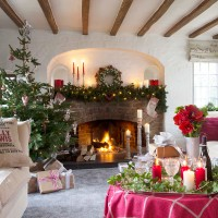 Explore this characterful home that was just built for Christmas