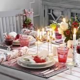 Christmas table setting design ideas