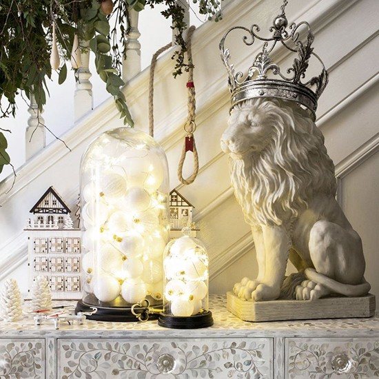 Decorating with Christmas lights