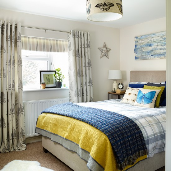 Sneak a peek at this nature inspired bedroom housetohome for Nature inspired rooms