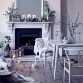 Dress the house in winter whites this Christmas