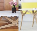 Watch this coffee table transform into a dining table in a second